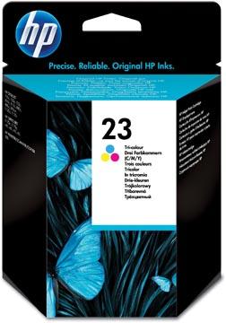 HP inktcartridge 23, 620 pagina's, OEM C1823D, 3 kleuren