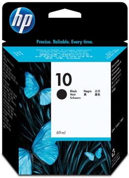 HP cartouche d'encre 10, 2.200 pages, OEM C4844AE, noir