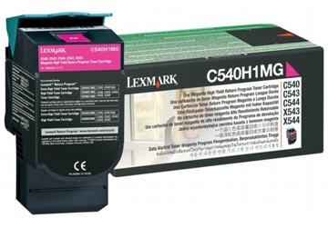 Lexmark Toner magenta return program - 1000 pagina's - C540A1MG