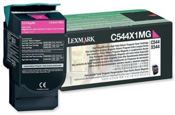 Lexmark Toner magenta return program - 4000 pagina's - C544X1MG