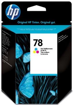 HP cartouche d'encre 78, 560 pages, OEM C6578DE, 3 couleurs