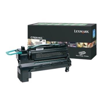 Lexmark Cartouche toner noir return program - 6000 pages - C792A1KG