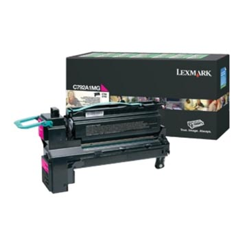 Lexmark Cartouche toner magenta return program - 6000 pages - C792A1MG