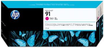 HP inktcartridge 91, 775 ml, OEM C9468A, magenta