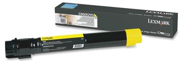 Lexmark Toner geel - 24000 pagina's - C950X2YG