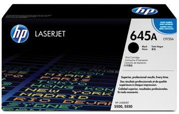 HP toner 645A, 13 000 pages, OEM C9730A, noir