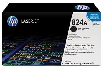 HP drum 824A, 35.000 pagina's, OEM CB384A, zwart