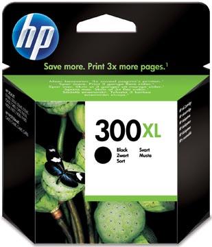 HP inktcartridge 300XL, 600 pagina's, OEM CC641EE#301, zwart, met beveiligingssysteem