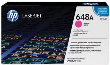 HP toner 648A, 11 000 pages, OEM CE263A, magenta