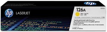 HP toner 126A, 1000 pages, OEM CE312A, jaune