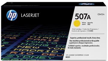 HP toner 507A, 6 000 pages, OEM CE402A, jaune