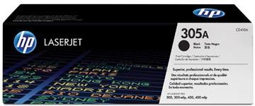 HP toner 305A, 2 200 pages, OEM CE410A, noir