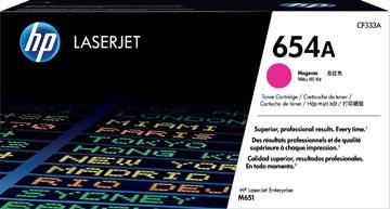 HP toner 654A, 15.000 pages, OEM CF333A, magenta