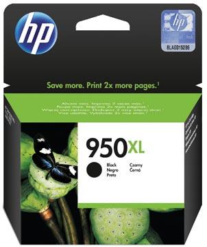 HP cartouche d'encre 950XL, 2.300 pages, OEM CN045AE, noir