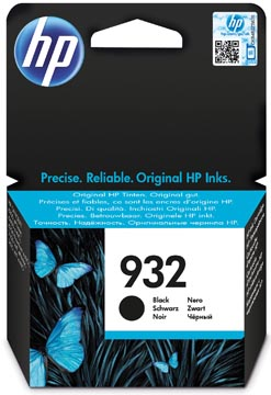 HP cartouche d'encre 932, 400 pages, OEM CN057AE, noir