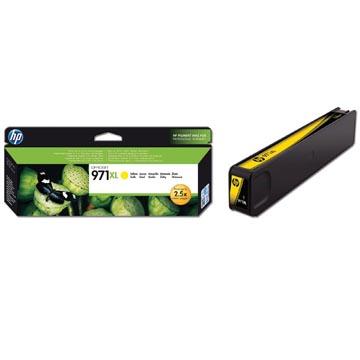 HP inktcartridge 971XL, 6.600 pagina's, OEM CN628AE, geel