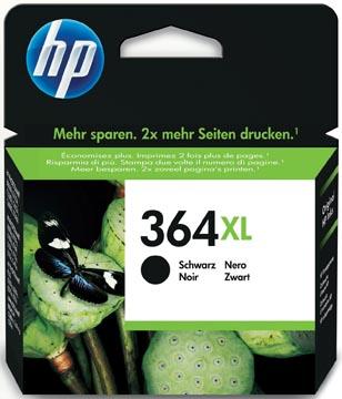 HP inktcartridge 364XL, 550 pagina's, OEM CN684EE#301, zwart, met beveiligingssysteem