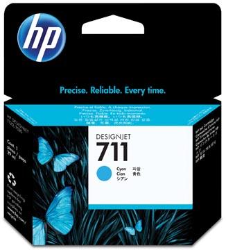 HP inktcartridge 711, 29 ml, OEM CZ130A, cyaan