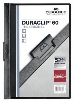 Durable Chemise à pince Duraclip Original 60 noir