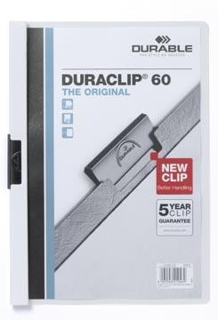 Durable Chemise à pince Duraclip Original 60 blanc