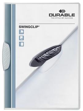 Durable klemmap Swingclip wit