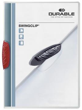 Durable klemmap Swingclip rood