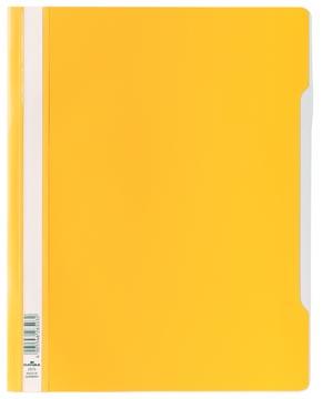 Durable farde à devis jaune