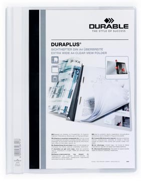 Durable farde à devis Duraplus blanc