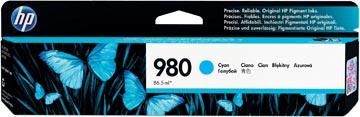 HP cartouche d'encre 980A, 6.600 pages, OEM D8J07A, cyan