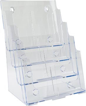 Deflecto présentoir de documents ft 1/3 A4, 2 x 4 compartiments