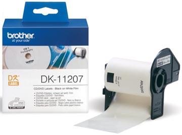 Brother étiquettes pour QL, ft 58 x 58 mm, 100 étiquettes