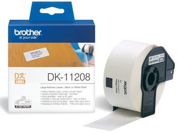 Brother etiketten voor QL, ft 38 x 90 mm, pak van 400 etiketten