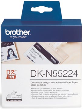 Brother ruban continu pour QL, ft 54 mm x 30,48, papier, non-adhésif