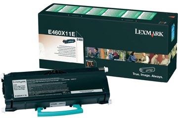 Lexmark Toner zwart return program - 15000 pagina's - E460X11E