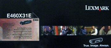 Lexmark Toner zwart corporate - 15000 pagina's - E460X31E