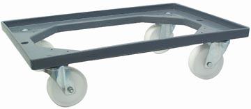 Viso plateau roulant pour les bacs empilables, poids max. 250 kg