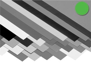 Folia papier à dessin coloré vert pré
