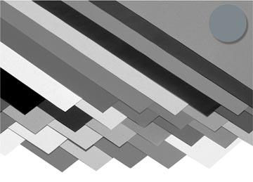 Folia papier à dessin coloré gris foncé