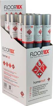 Floortex tapis de sol, pour tapis et des sols solides, ft 120 x 75 cm, display de 12 pièces