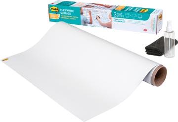 Post-It Flex Write film effaçable à sec sur rouleau, ft 121,9 x 243,8 cm