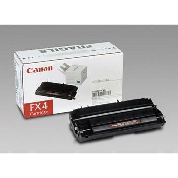 Canon toner FX4, 4.000 pages, OEM 1558A003, noir