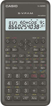 Casio calculatrice scientifique FX-82MS