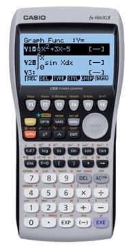 Casio grafische rekenmachine FX 9860 G