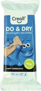 Creall Pâte à modeler Do & Dry terracotta, happy ingredients, paquet de 500 g
