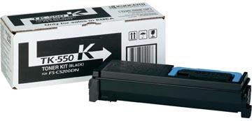 Kyocera Toner zwart TK550K - 7000 pagina's - 1T02HM0EU0