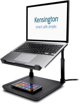 Rehausseur Kensington SmartFit pour ordinateur portable à tapis de charge