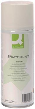 Q-Connect Quick Mount spray, niet permanent, spuitbus van 400 ml