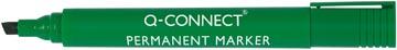Q-Connect permanent marker, schuine punt, groen