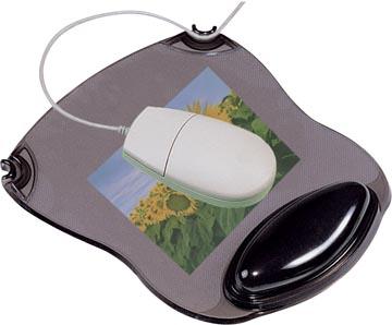 Q-Connect tapis souris gel avec repose-poignet, gris
