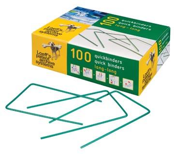 Loeff's quickbinder Lengte 140 mm Doos 100 stuks